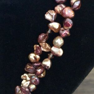 Jewelry - Organic Pearl Necklace